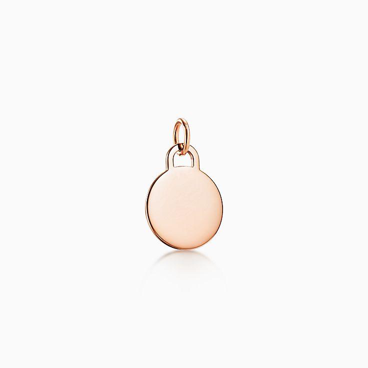Tiffany Charms: круглая подвеска-шарм