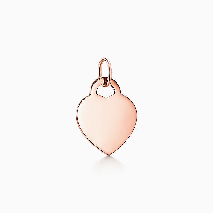 Tiffany Charms: подвеска-шарм в форме сердца