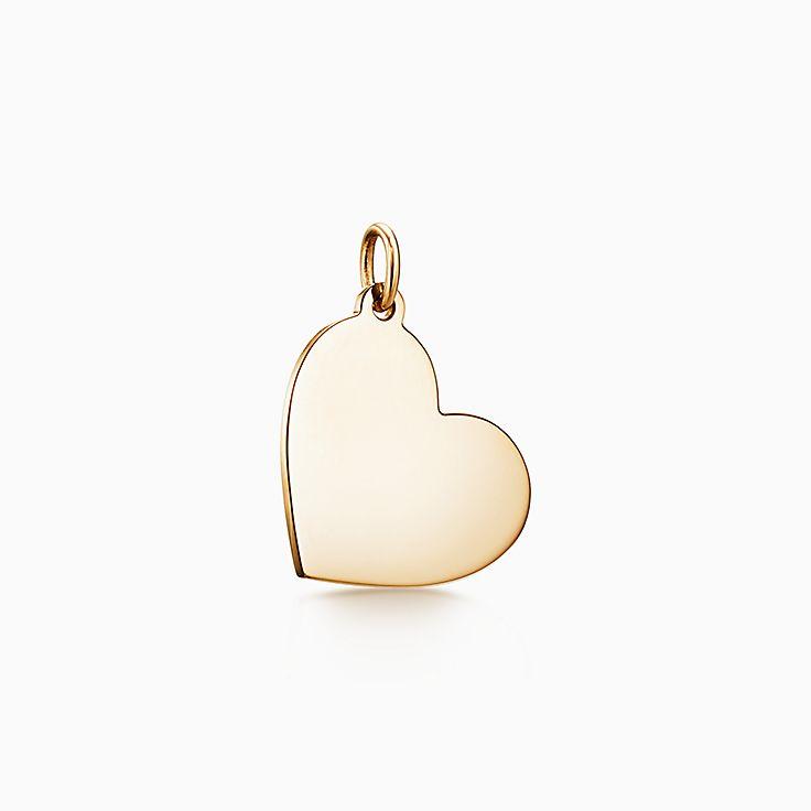 Tiffany Charms: подвеска в форме сердца