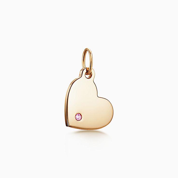 Tiffany Charms: berloque de coração