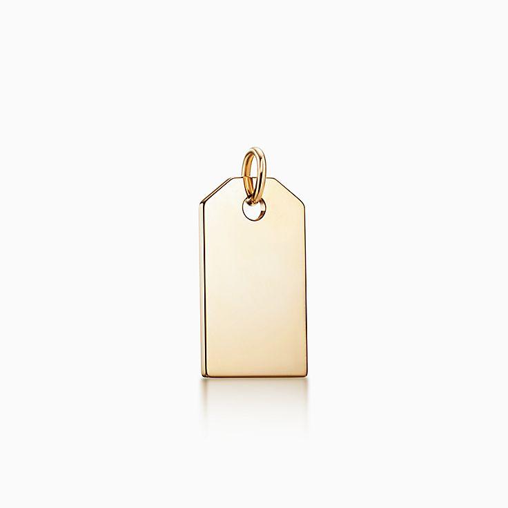Tiffany Charms: berloque de etiqueta