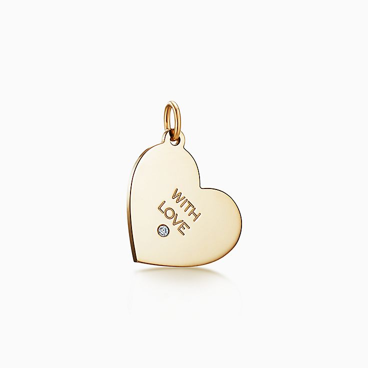 """Tiffany Charms: berloque """"With Love"""""""