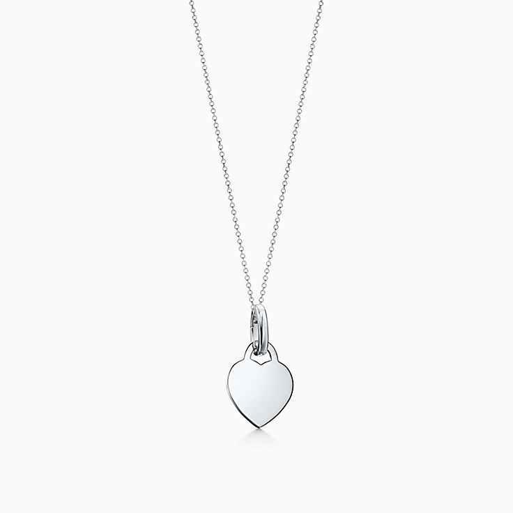 Tiffany Charms: Charm Plaque Cœur