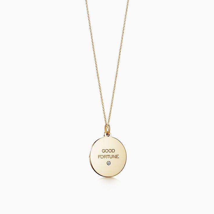 Tiffany Charms: подвеска «Good Fortune»