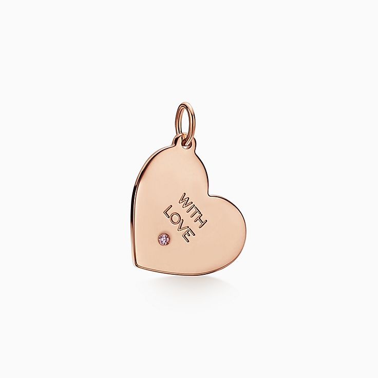 Tiffany Charms: подвеска «With Love»