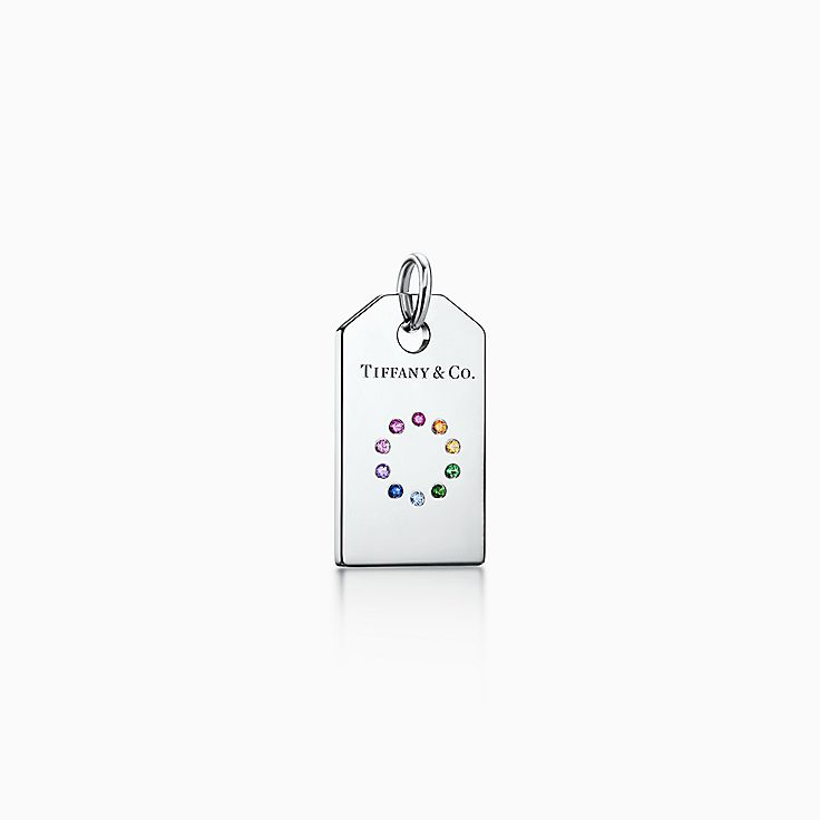 Tiffany Charms:Colour Wheel Tag