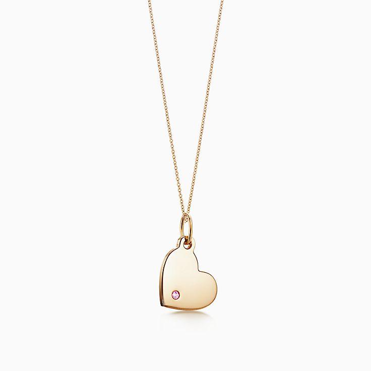 Tiffany Charms:Heart Tag