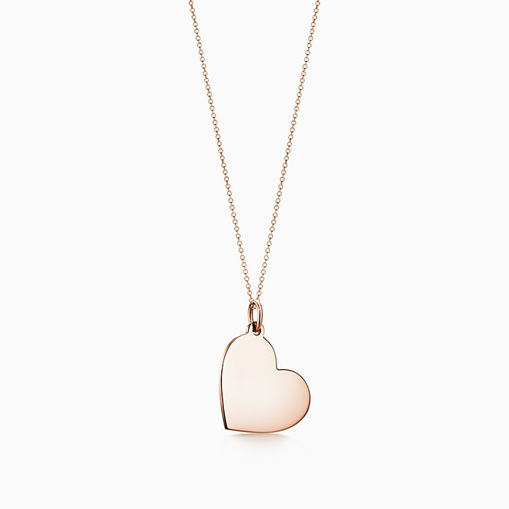 Tiffany Charms:Heart Tag