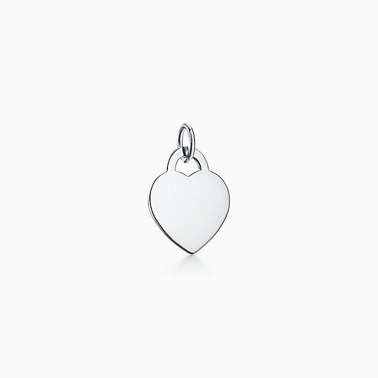 Tiffany Charms:Heart Tag Charm