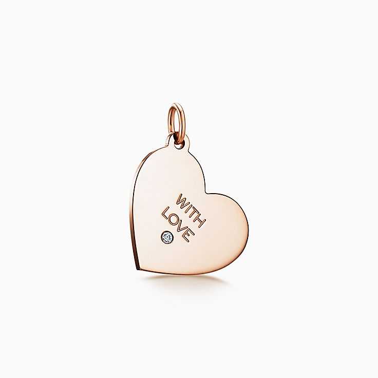"""Tiffany Charms:""""With Love"""" 吊飾"""