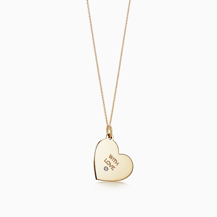 """Tiffany Charms:""""With Love"""" Tag"""