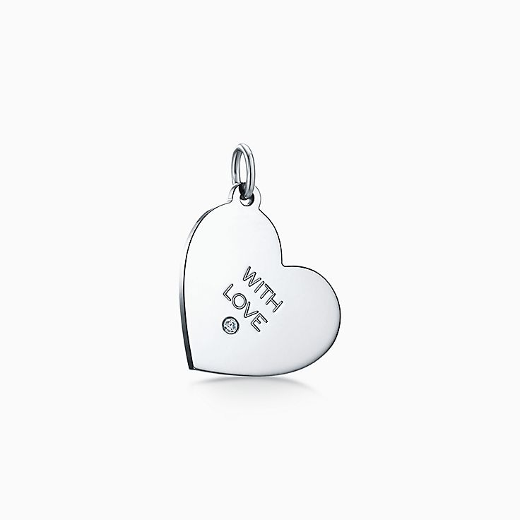 "Tiffany Charms:""With Love"" Tag"