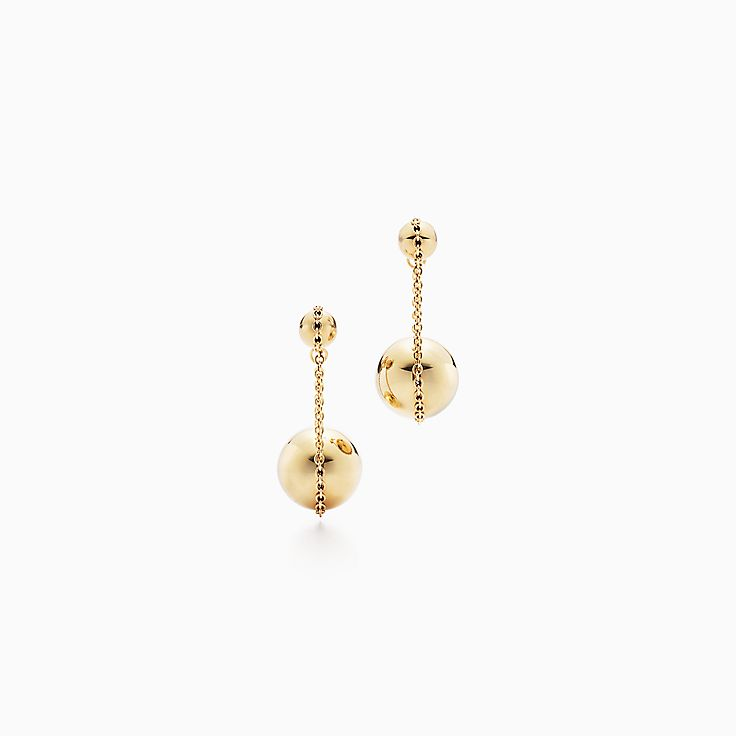 Tiffany City HardWear:Double Drop Earrings