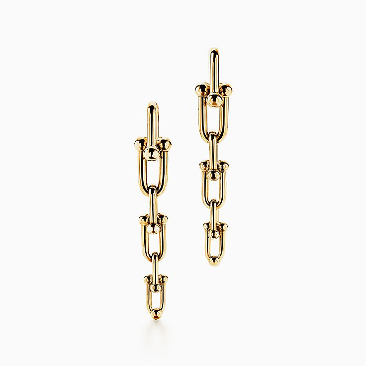 Tiffany City HardWear:Graduated Link Earrings
