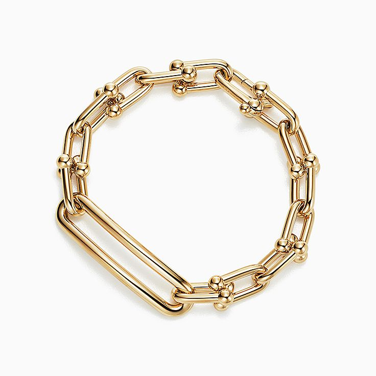Tiffany City HardWear:Link Bracelet in 18k Gold