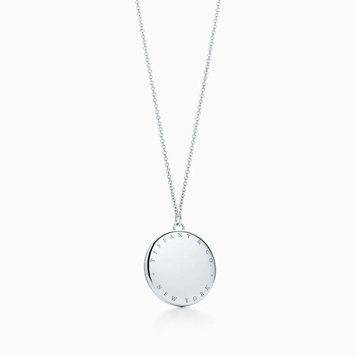"""Tiffany & Co."" round locket pendant"
