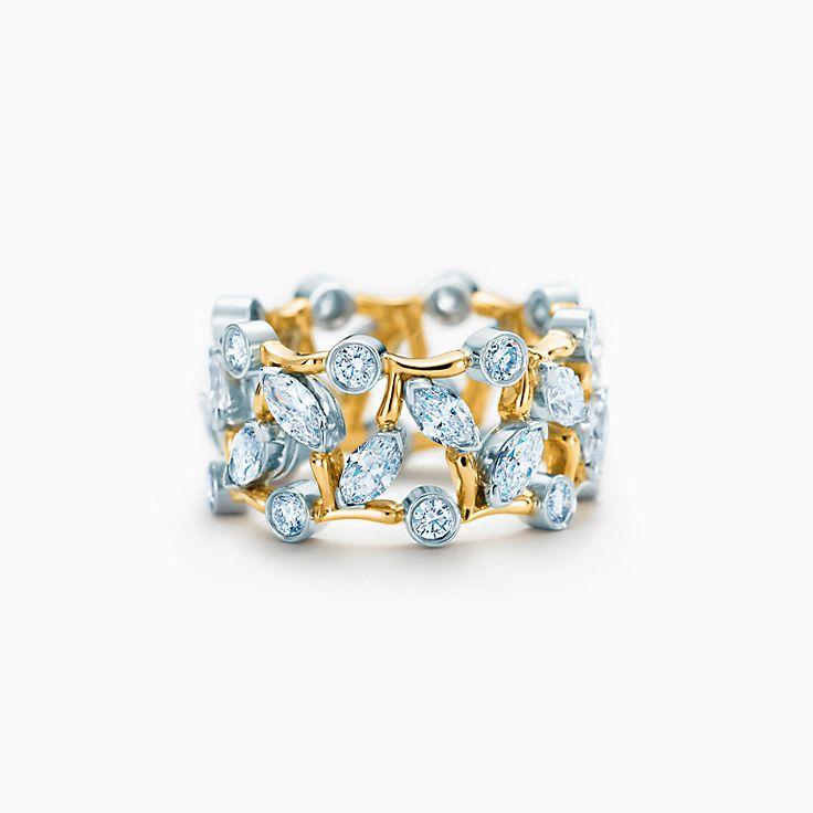 Tiffany & Co. Schlumberger: Кольцо «Лоза»