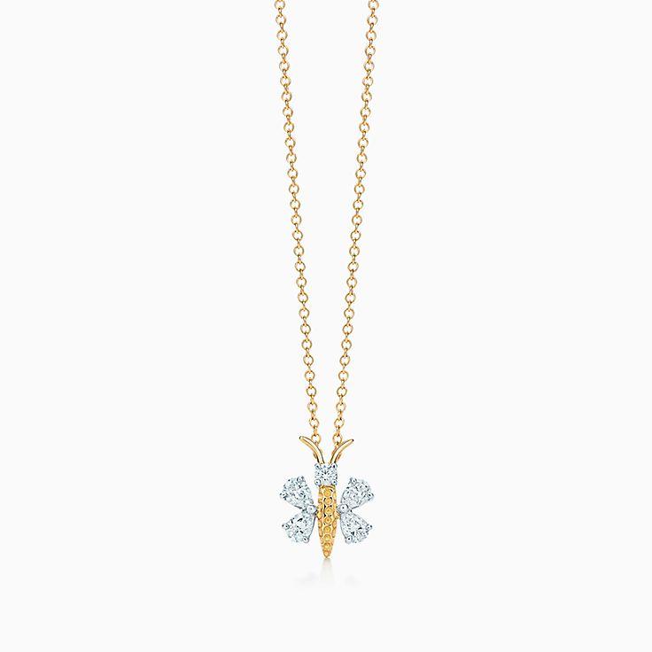 Tiffany & Co. Schlumberger:Подвеска в виде бабочки
