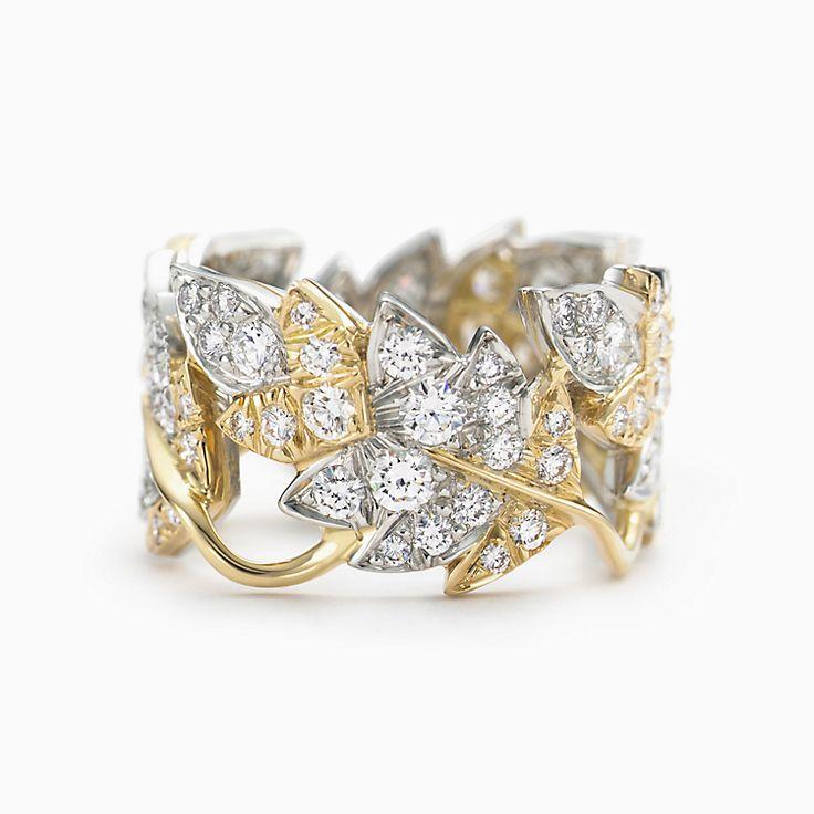 Tiffany & Co. Schlumberger: Bague Quatre feuilles