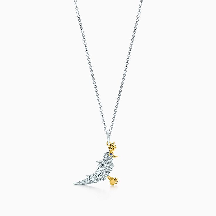 Tiffany & Co. Schlumberger®: Bird charm and chain
