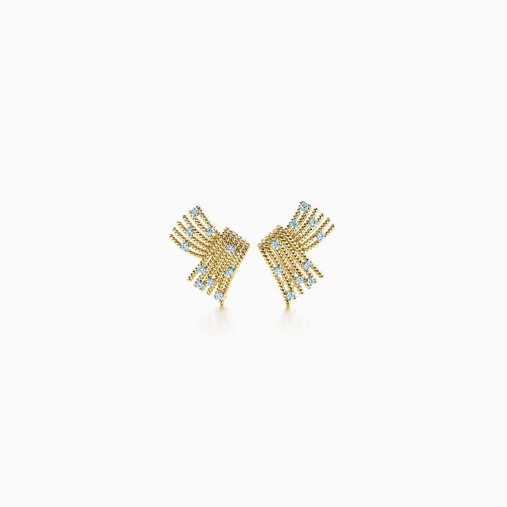 Tiffany & Co. Schlumberger: Brincos de pressão V-Rope