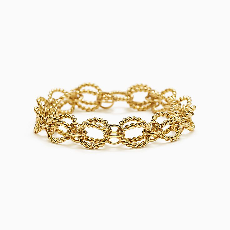 Tiffany & Co. Schlumberger:Браслет Rope из круглых звеньев