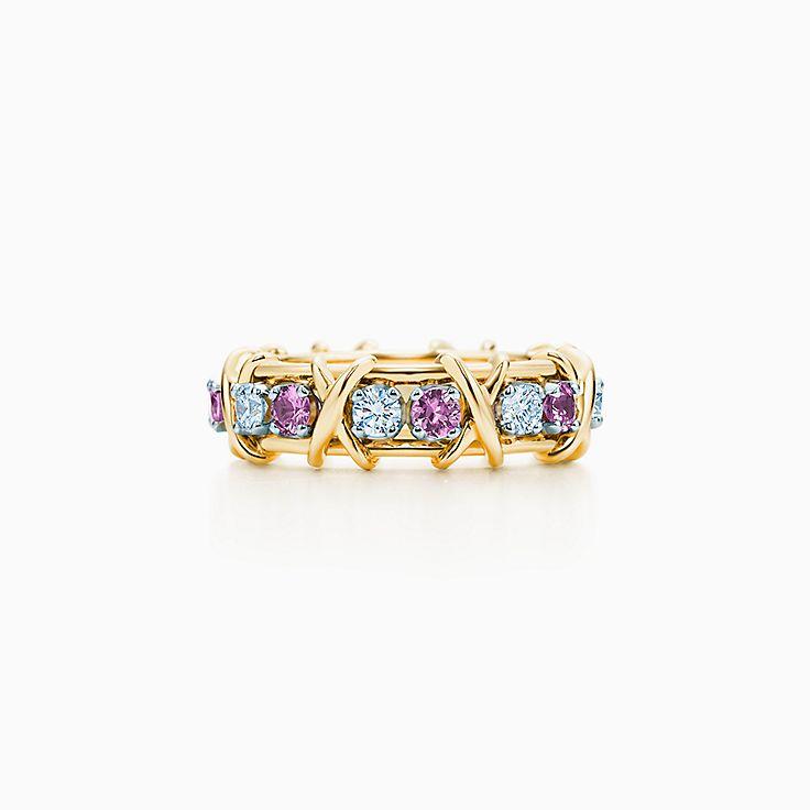 Tiffany & Co. Schlumberger:Кольцо Sixteen Stone