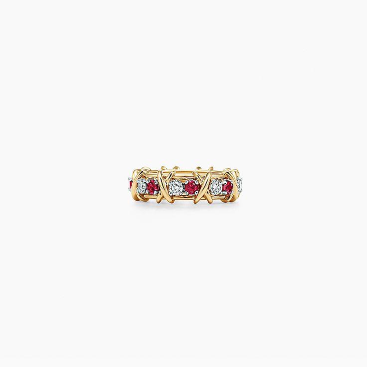 Tiffany & Co. Schlumberger®:16ストーン リング