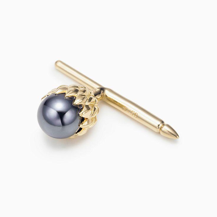 Tiffany & Co. Schlumberger®:Acorn Shirt Stud