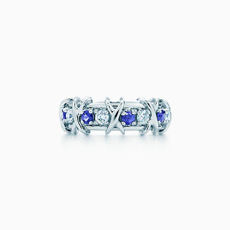 Tiffany & Co. Schlumberger:Bague à seize pierres