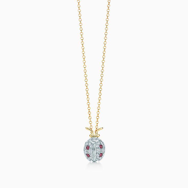Tiffany & Co. Schlumberger:Ladybug Pendant