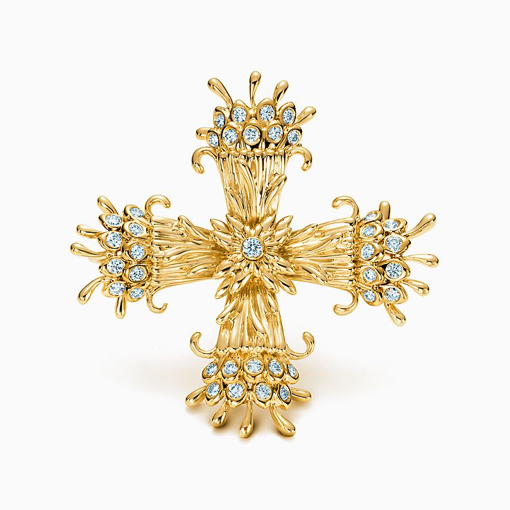 Tiffany & Co. Schlumberger®:Maltese Cross Clip