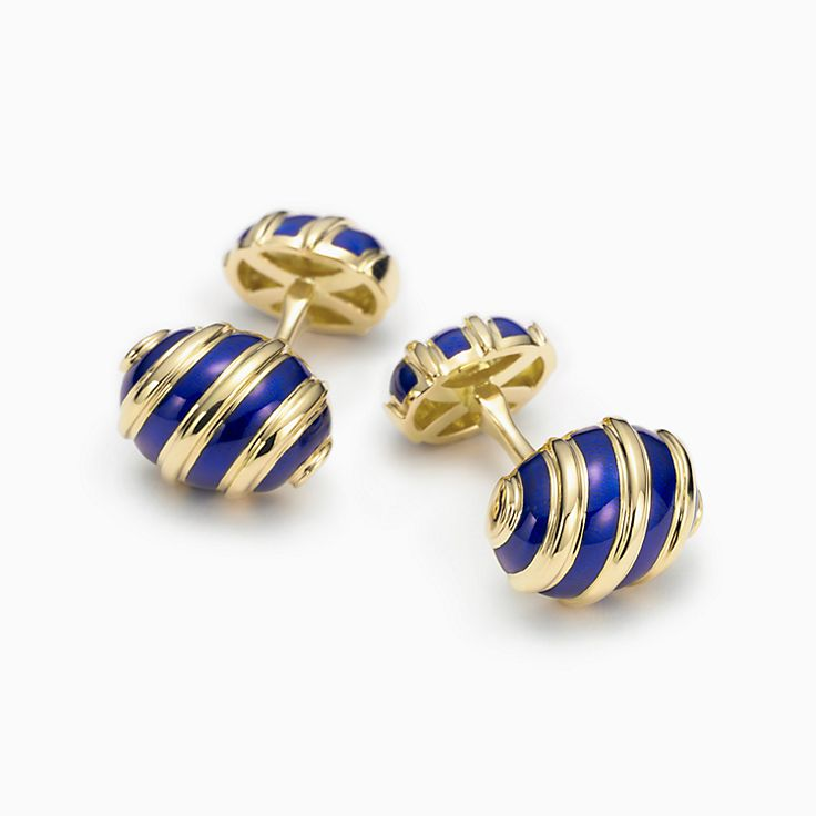 Tiffany & Co. Schlumberger:Olive Cuff Links