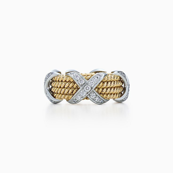 Tiffany & Co. Schlumberger:Rope Four-row X Ring