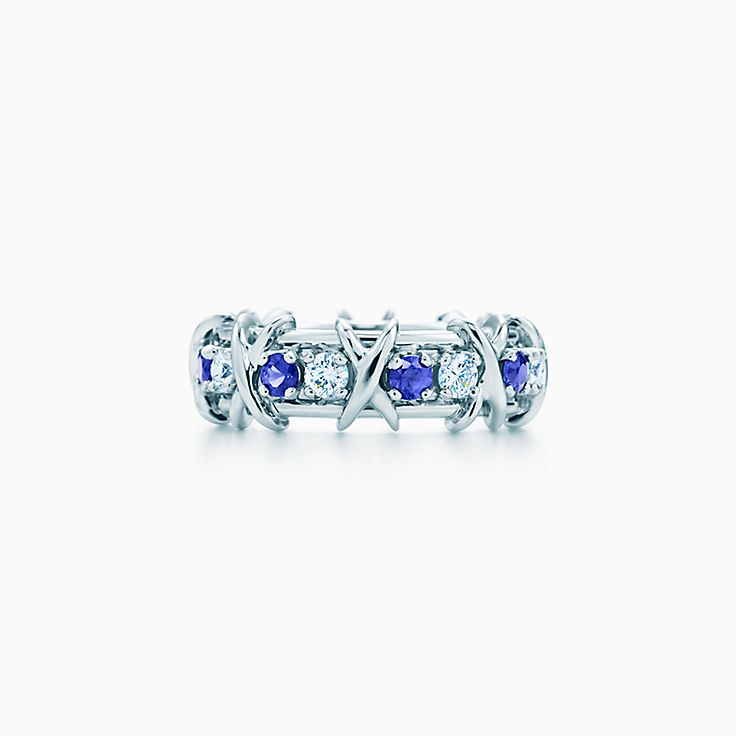 Tiffany & Co. Schlumberger:Sixteen Stone 寶石戒指