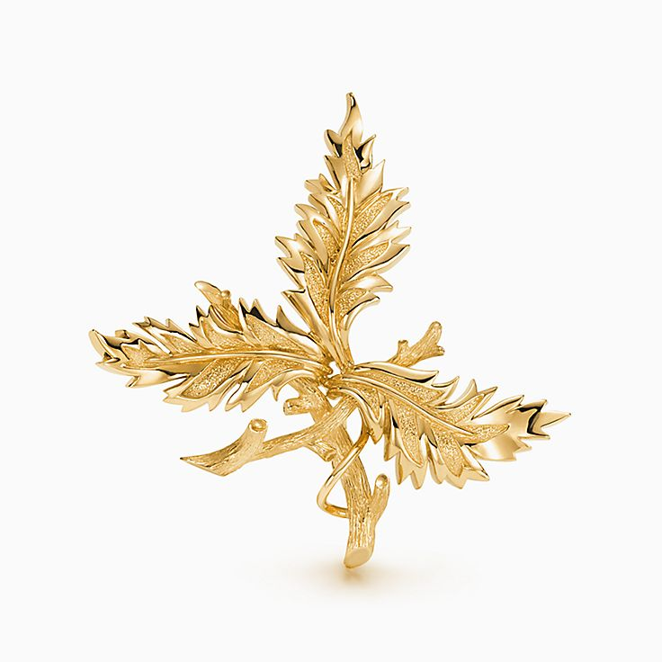 Tiffany & Co. Schlumberger®:Three Leaves Clip