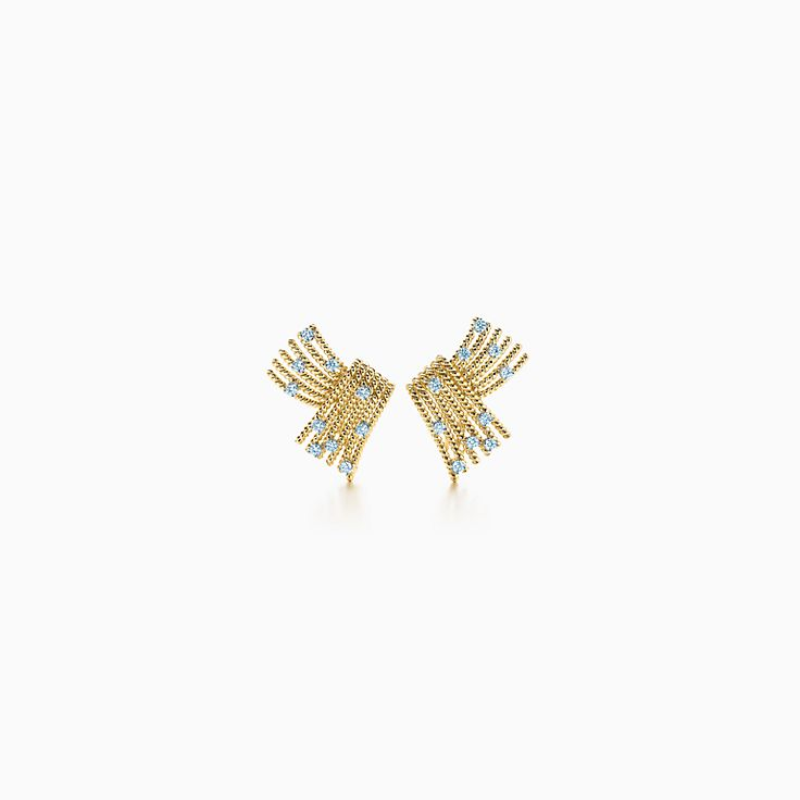 Tiffany & Co. Schlumberger:V-Rope Ear Clips