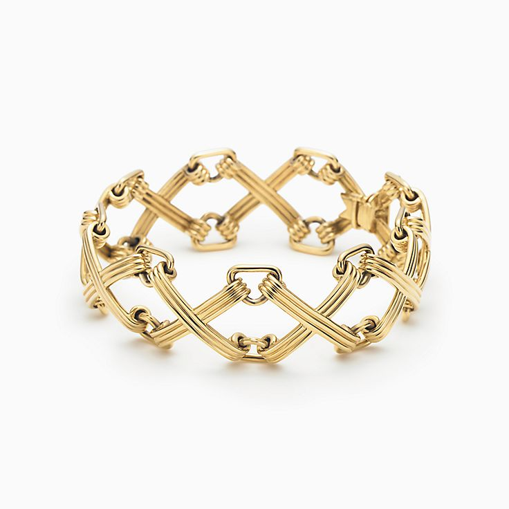 Tiffany & Co. Schlumberger®:X and Triangle Bracelet