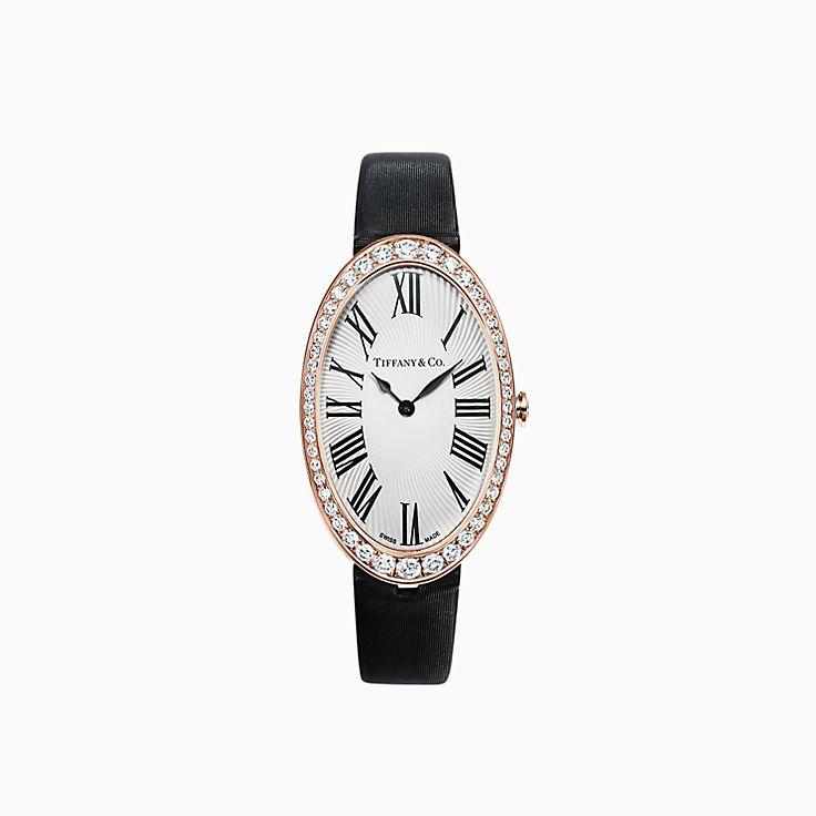 Tiffany Cocktail:Reloj de 25,6 x 42,4mm con 2 manecillas