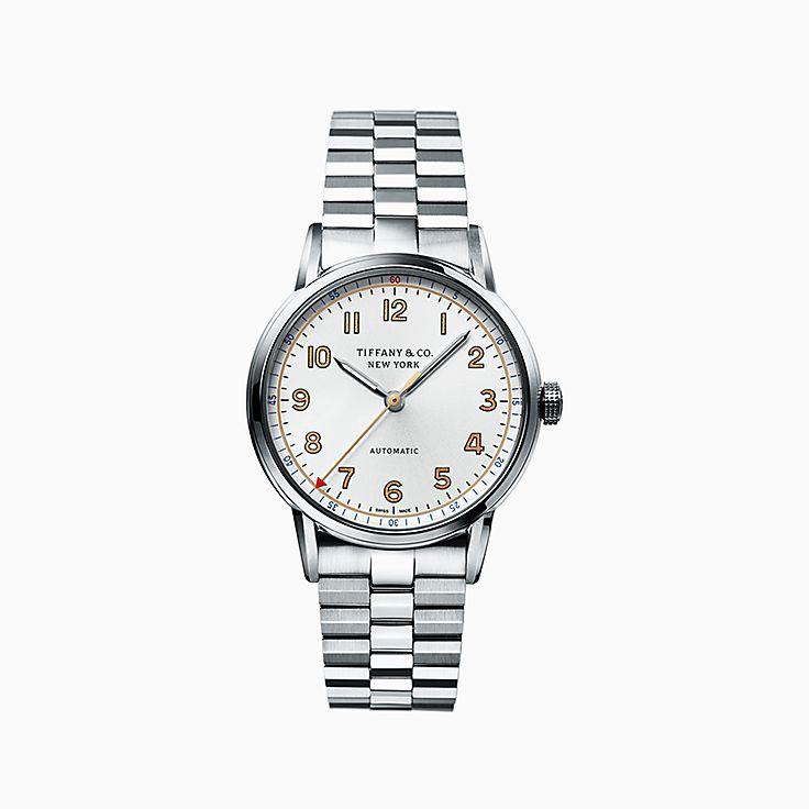 Tiffany CT60®:3-Hand 34 毫米腕錶