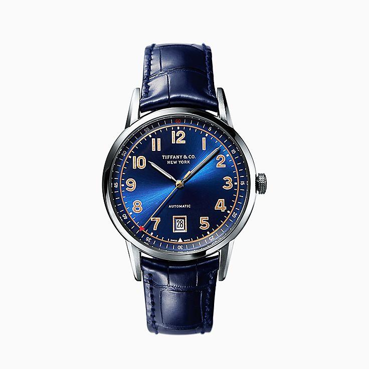 Tiffany CT60®:3-Hand 40 毫米腕錶
