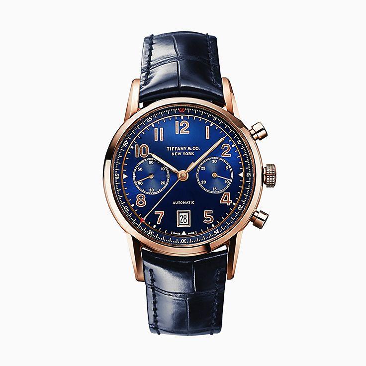 Tiffany CT60(MD):Montre chronographe 42mm