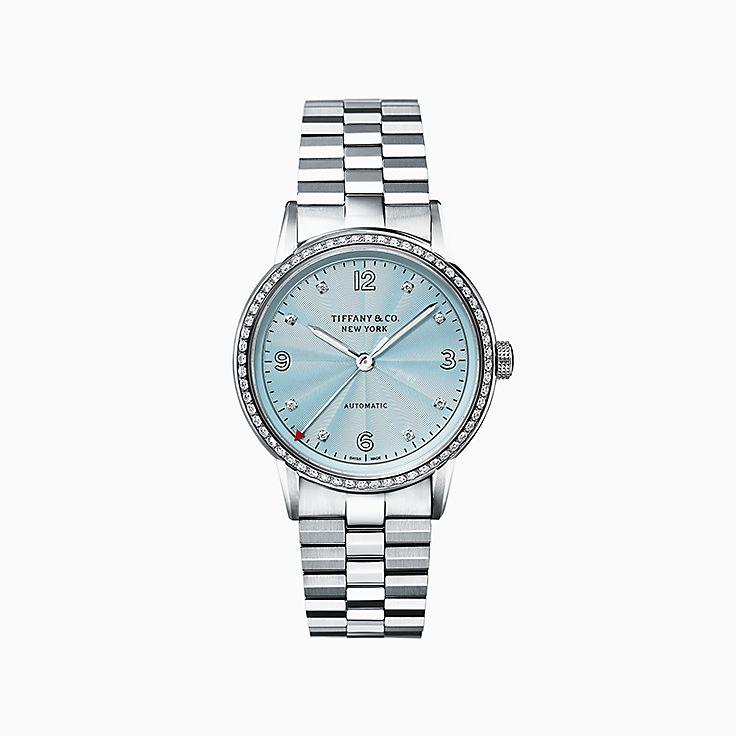Tiffany CT60®:Reloj de 34mm con 3 manecillas