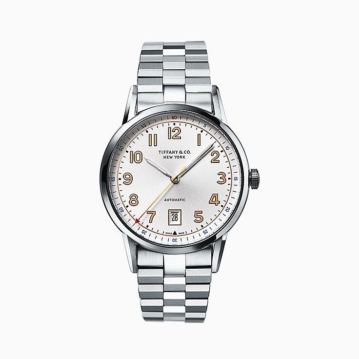 Tiffany CT60®:Reloj de 40mm con 3 manecillas