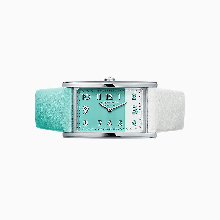 Tiffany East West™:2-Hand 37 x 22 毫米腕錶
