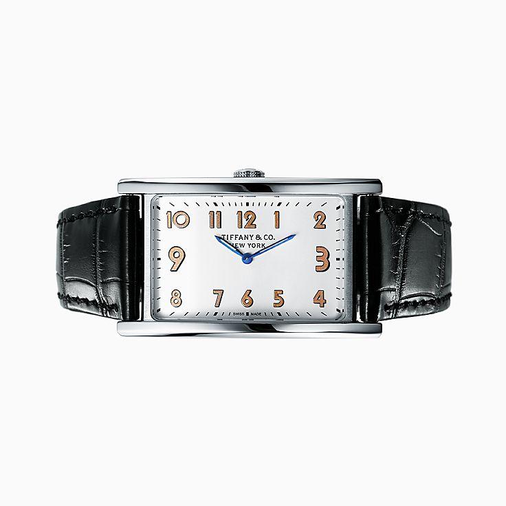 Tiffany East West™:2-Hand 42 x 25 毫米腕錶