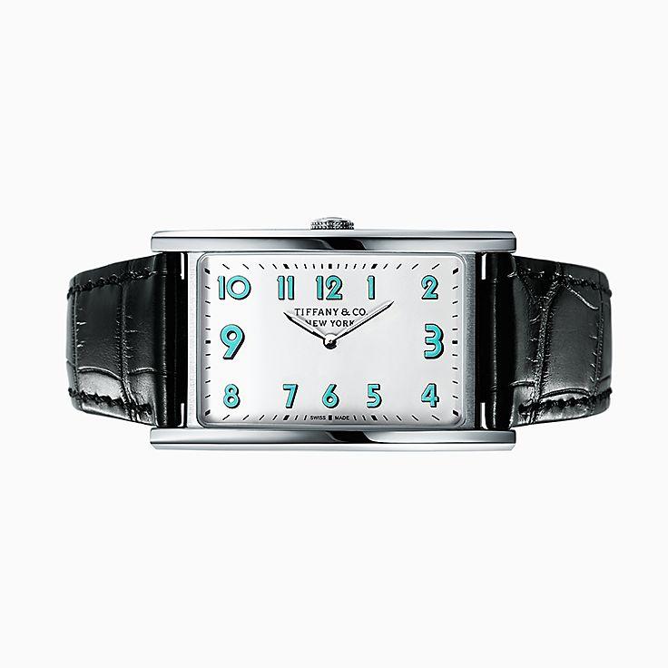 Tiffany East West™:3-Hand 42 x 25 毫米腕錶