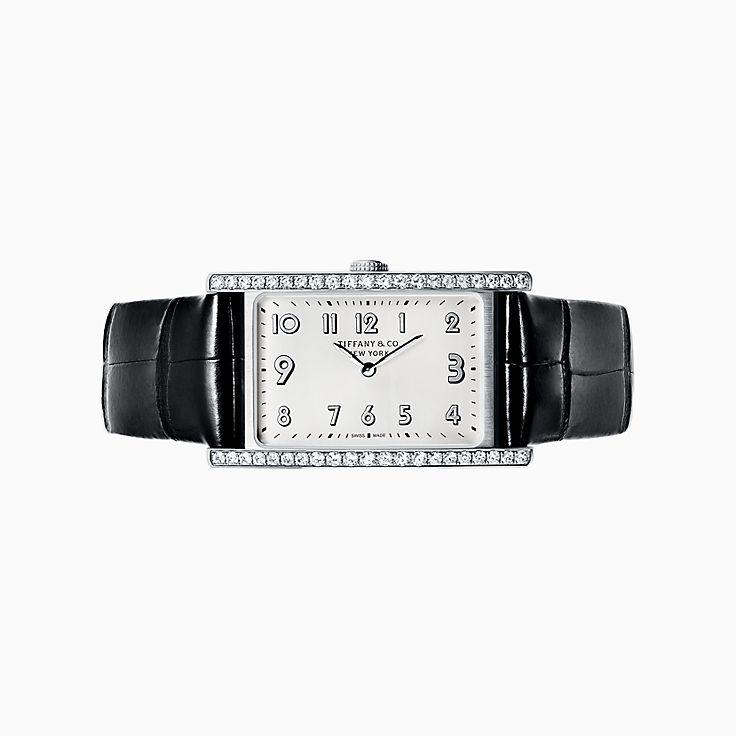 Tiffany East West®:Mini 2-Hand 37 x 22 mm Watch