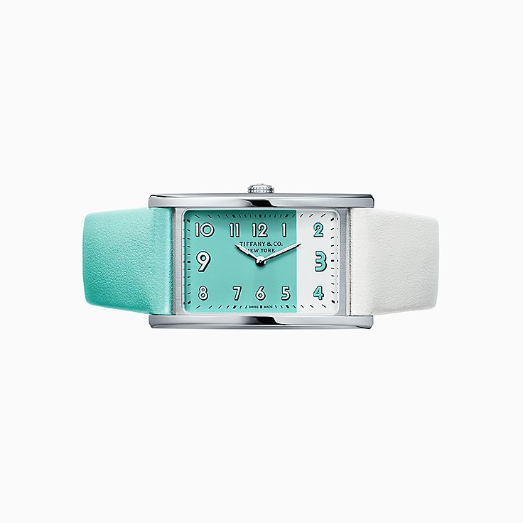 Tiffany East West®:Reloj de 2 manecillas de 37 x 22 mm