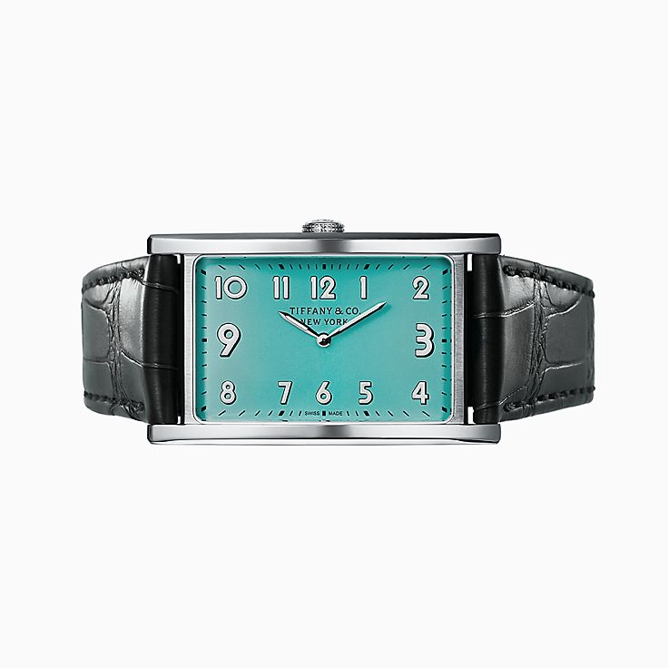 Tiffany East West®:Reloj de 2 manecillas de 42 mm x 25 mm